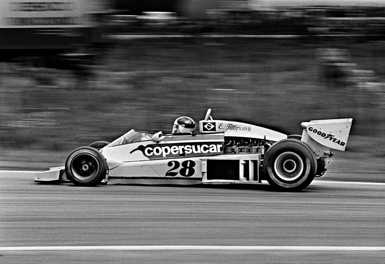 Emerson Fittipaldi Copersucar-Fittipaldi. World Champion-72 Anderstorp 1977 Formula1
