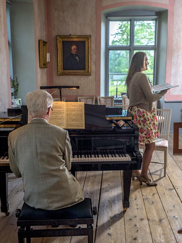Saxå Kammarmusikfestival 2015 Lennart Wallin & Christina Högman