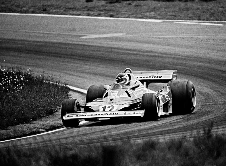 Carlos Reutermann Argentina Ferrari Anderstorp 1977 Formula1