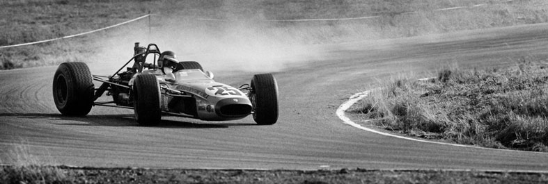 Ronnie Peterson heavy drifting 1968 Formel 3